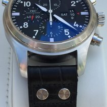 IWC Double Chronograph Pilot Black Dial IW377801