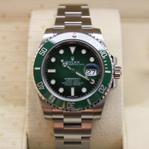 Rolex 116610LV Submariner Steel Green Dial