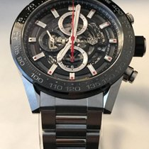 TAG Heuer Carrera Caliber 01 Skeleton Bracelet Swiss 43mm