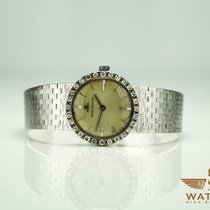 Jaeger-LeCoultre Vintage 750/18K White Gold Diamond Diamanten