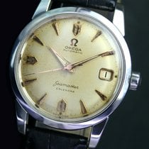 Omega Seamaster Calendar Automatic Date Steel Mens Watch...