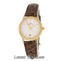 Maurice Lacroix Authentic Ladies 7189853-08 18K Yellow Gold...