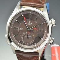Tudor Heritage Advisor Cognac Dial Alligator Automatic 42MM...