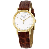 Tissot White Dial Leather Strap Men's Watch T1092103603100