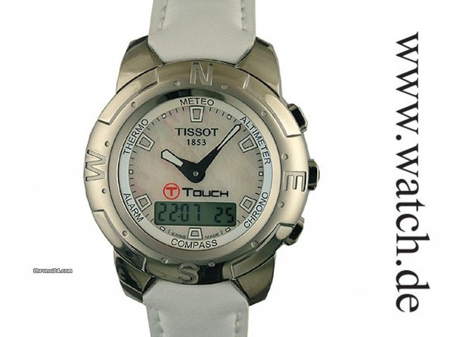 Tissot T Touch Polished Titanium 41mm