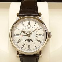 Patek Philippe 百達翡麗 5159G 18K White Gold Retrograde Perpetual...