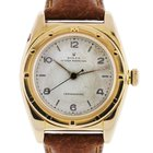 Rolex 18k  Bubble Back Head 425039 on Leather Strap