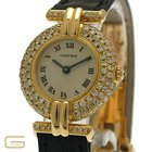 Cartier Vermeil 18K.Gold Diamanten