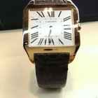 Cartier 18k rose gold Santos Dumont W2006951
