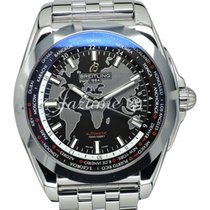 Breitling WB3510U4|BD94|375A GALACTIC UNITIME 44mm STAINLESS...