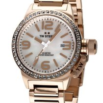 TW Steel TW306 Unisex ZB perlmutt-rotgold, Edelstahl rotgold...
