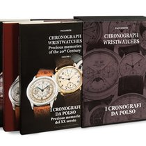 Patek Philippe 3 Books Chronograph Wristwatches (all brands)
