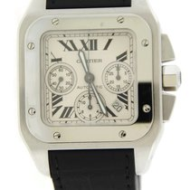 Cartier Santos 100 XL Chronograph Automatic Stainless Steel