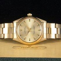 Rolex Oyster Perpetual VINTAGE Gelbgold/18kt. aus 1967 New...