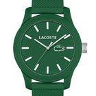 Lacoste 2010763 Unisex Uhr grün Silikon 42 mm