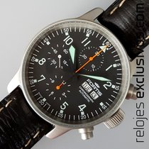 Fortis B-42 Flieger Day-Date Chrono (NOS)
