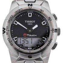Tissot T-Touch II Gent Steel Black Dial