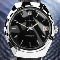 Citizen Stainless Vintage Rare Japanese Manual Watch With Date...
