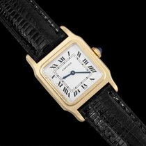 Cartier Santos Dumont Vintage Mens Midsize Ultra Thin Watch -...