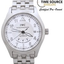 IWC Pilot Spitfire UTC Automatic Dual Time Zone SS 39mm  Watch