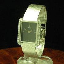 Ebel 18kt 750 Gold Handaufzug Damenuhr Mit Diamant Besatz /...