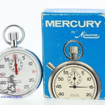 Minerva Vintage Stopwatch Cal. Lemania LWC RC 191 Working (B2824)