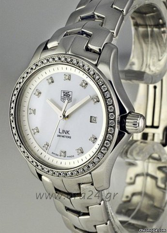 TAG Heuer Link Ladies 200m Mother of Pearl 63 Diamonds