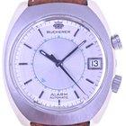 Bucherer Mans Automatic Alarm Wristwatch Alarm
