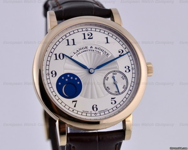 A. Lange and Sohne 1815 Moonphase Honey Gold Hommage to FA Lange