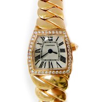 Cartier La Dona Mini 18k Rose Gold Diamond Watch