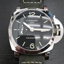Panerai LUMINOR 1950 3 DAYS GMT AUTOMATIC ACCIAIO PAM00535