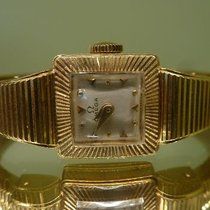 Omega vintage coktail watch solid gold