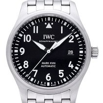 IWC Fliegeruhr Mark XVIII Edelstahlband 40 mm Ref. IW327011