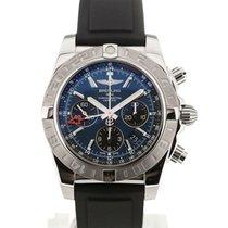 Breitling Chronomat 44 GMT Blue Dial Diver Pro