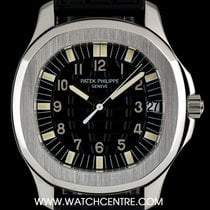 Patek Philippe Stainless Steel Black Dial Aquanaut Gents...