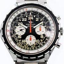 Breitling Vintage Cosmonaute Stahl Handaufzug um 1970 0819