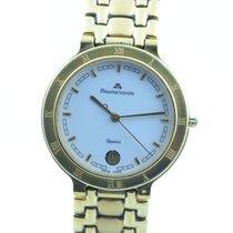 Maurice Lacroix Calypso Herren Uhr Stahl Vergoldet Quartz 34mm