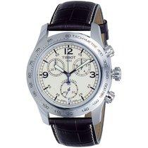 Tissot Men's Tist36131672 V-8 Ivory Dial Watch
