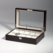Rothenschild Uhrenbox RS-2062-10EB fuer 10 Uhren ebony