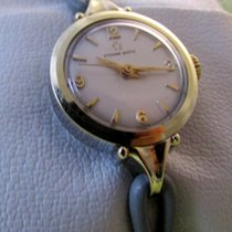 Eterna rare 14ct gold / steel automatic, serviced