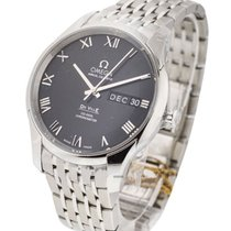 Omega DeVille Annual Calendar Men's in Steel