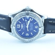 Breitling Colt Oceane Quartz Damen 32mm + Brillianten 0,7...