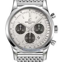 Breitling Transocean Chronograph 43mm ab015212/g724-ss
