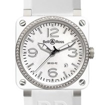 Bell & Ross BR03-92 Automatic 42mm BR03-92 White Ceramic...