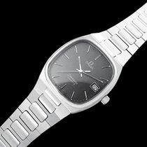 Omega 1980 Seamaster Classic Vintage Mens Gray Dial Quartz Watch,