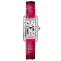Cartier Tank Americaine Quartz Ladies Watch Ref WB710015