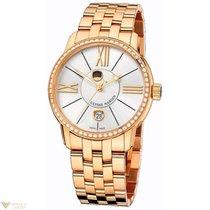 Ulysse Nardin Classico Luna Rose Gold Bracelet 18K Diamonds...