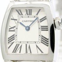 Cartier Polished Cartier La Dona Steel Quartz Ladies Watch...