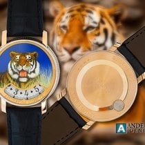 Andersen Genève Montre a Tact or Gris Tigre