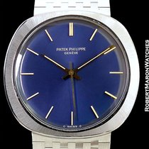 Patek Philippe 3573/1 18k White Gold W/ Papers New Old Stock...